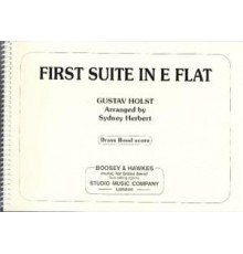 First Suite in Eb/ Score