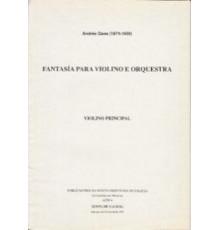 Fantasía para Violino e Orquestra Op. 24