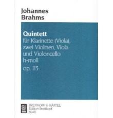 Quintet für Klarinette H-Moll Op. 115