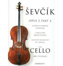 Sevcik. School for Cello. Op. 2 part 4