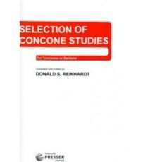 Selection of Concone Studies