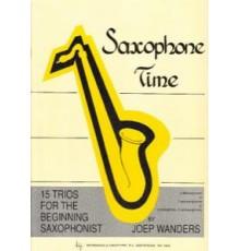 Saxophone Time. 15 Trios. Score   Parts