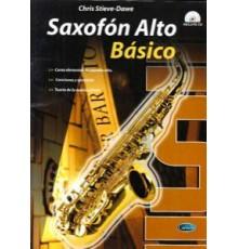 Saxofón Alto Básico   CD