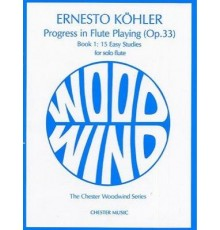 Progress in Flute Playing Op. 33 Vol. 1