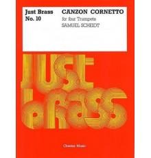 Canzon Cornetto. Just Brass Nº 10