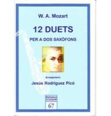 12 Duets per a Dos Saxófones