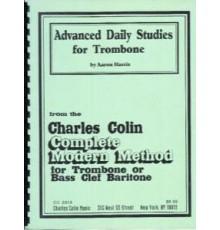 Advanced Daily Studies for Trombone