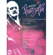 Easy Piazzola for Cello   CD