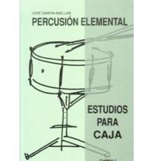 Percusion Elemental Estudios para Caja