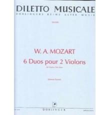 6 Duos pour 2 Violons