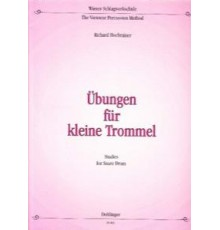 Übungen für Kleine Trommel Studies for S