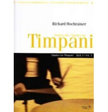 Etudes for Timpani Vol. 3