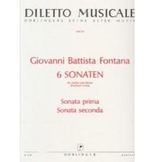 6 Sonaten. Sonata Prima. Sonata Seconda