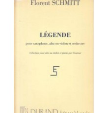 Légende Op. 66/ Red.Pno. Violin
