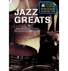 Play Along Drums Audio CD: Jazz Greats