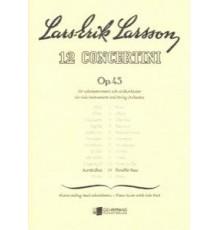12 Concertini Op. 45 Nº 11/ Red. Pno.