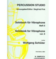 Solobuch für Vibraphone Band II