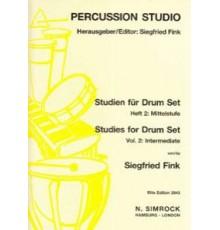 Studies for Drum Set Vol. 2: Intermediat