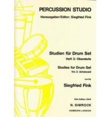 Studies for Drum Set Vol. 3: Advanced