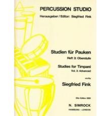 Studies for Timpani Vol. 3