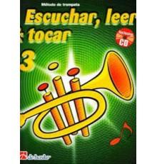 Escuchar, Leer & Tocar. Trompeta 3   CD