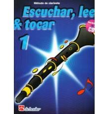 Escuchar, Leer & Tocar. Clarinete 1   CD