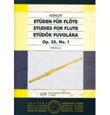 Studies for Flute Op. 33 Nº 1