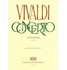 Concerto in RE minore RV 481/ Red. Pno.