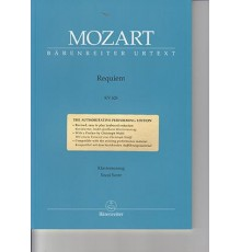 Requiem KV 626/ Vocal Score