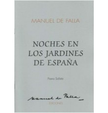Noches en los Jardines de España/