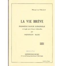 La Vida Breve/ Full Score (12 Cellos)
