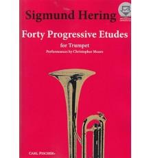 Forty Progressive Etudes   CD