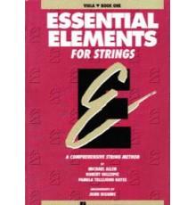 Essential E. Strings Viola Book 1