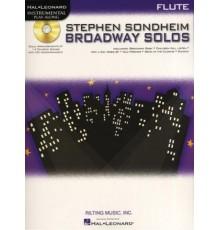 Broadway Solos Flute   CD