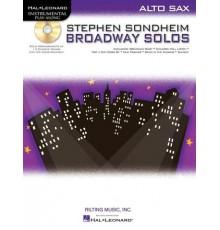 Broadway Solos Alto Sax   CD