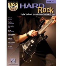 Bass Play-Along Hard Rock Vol. 7   CD