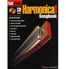 Fast Track Harmonica Songbook 1 Book/ On
