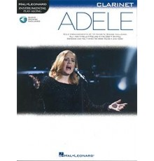 Adele Clarinet/  Book   Online Audio