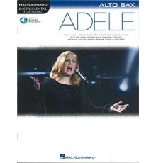 Adele Alto Sax/ Book   Online Audio