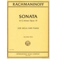 Sonata in G minor Op. 19