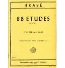 86 Etudes Book I