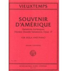 Souvenir D?Amérique Op. 17. Variations B