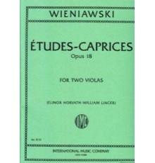 Etudes-Caprices Op. 18