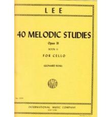 40 Melodic Studies  Op. 31. Book II