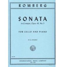 Sonata G Major Op. 43 Nº 3