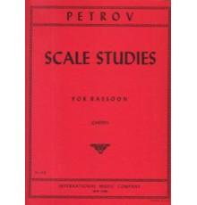 Scale Studies Solo