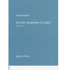 90 Easy Bassoon Studies Grades 1-5