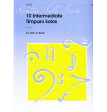 10 Intermediate Timpani Solos