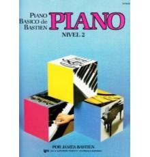 Bastien P. Básico.Piano. Nivel 2º
