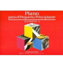 Bastien Piano Pequeño Principiante A Ele